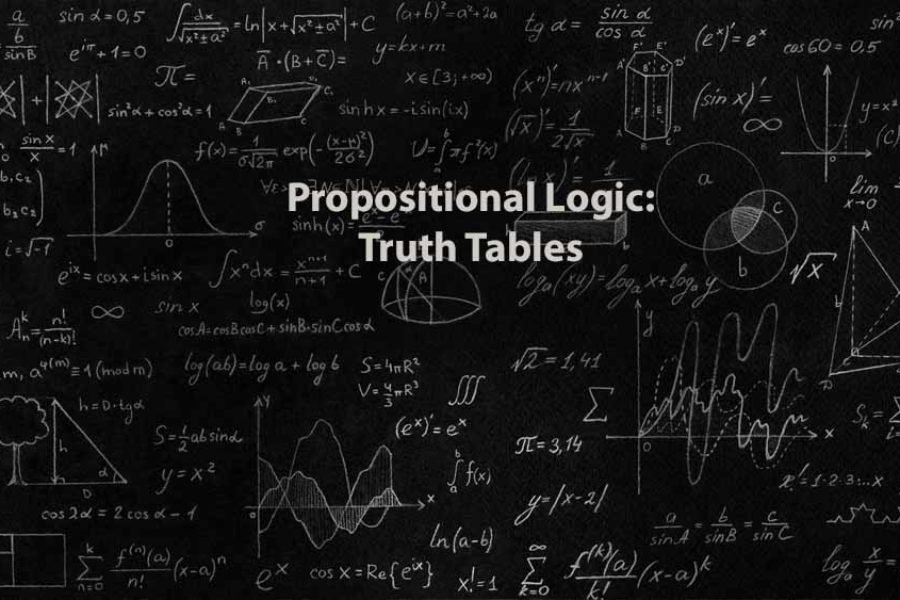 Mathematics 1 | Propositional Logic: Truth Tables