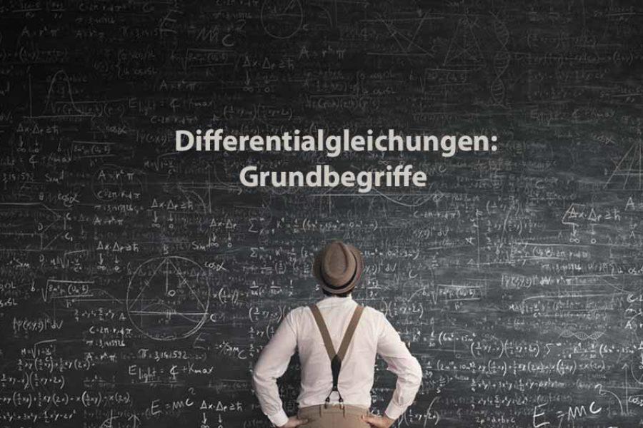 Mathematik 2 | Differentialgleichungen: Grundbegriffe