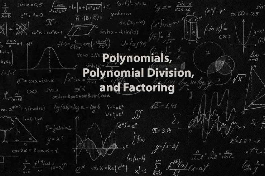 Mathematics 1 | Polynomials, Polynomial Division, and Factoring