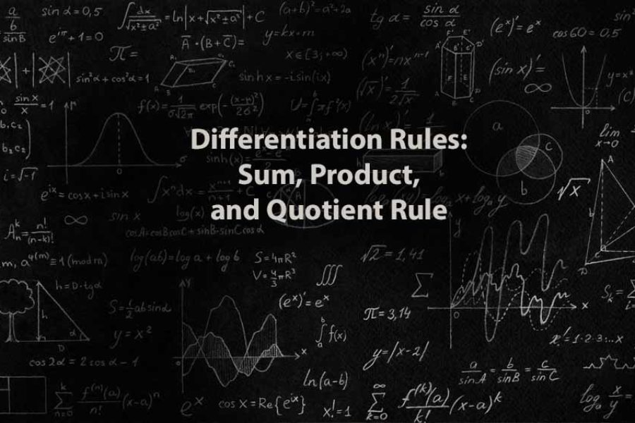 Mathematics 1 | Differentiation Rules: Sum, Product, and Quotient Rule