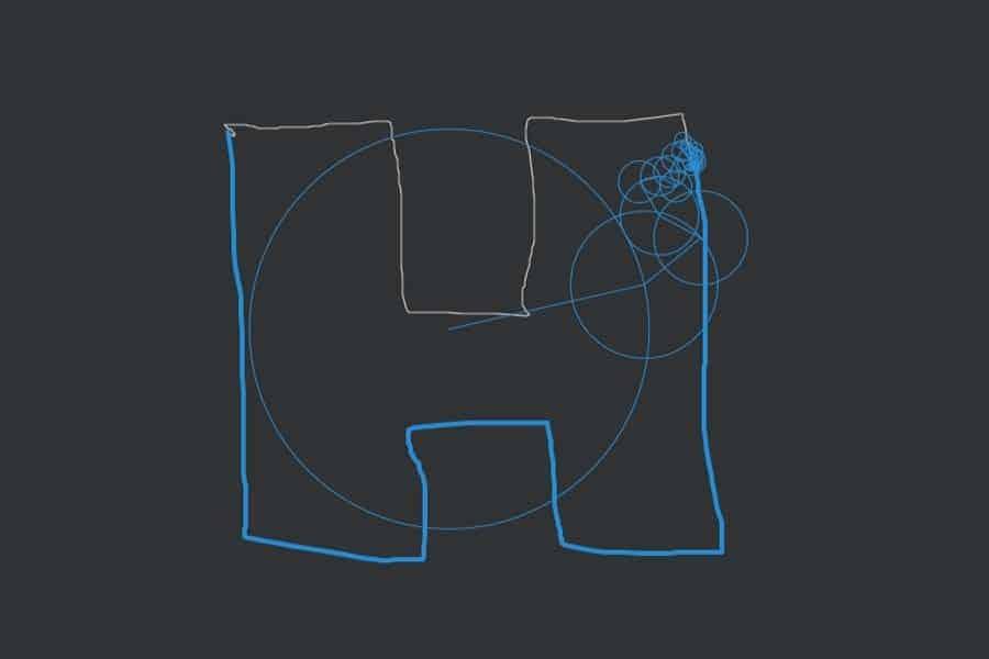 Interaktiv: Let the circles follow you…